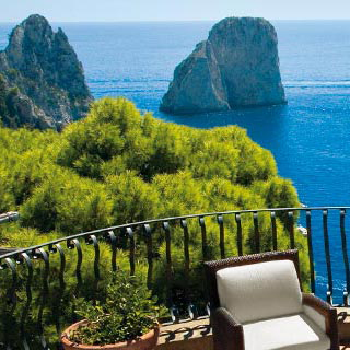 Luxury hotel capri